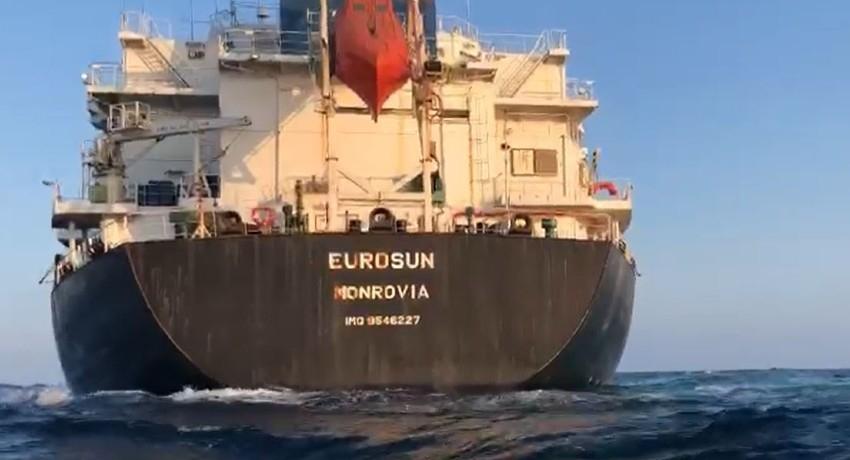 No Oil Spill from MV Eurosun; MEPA