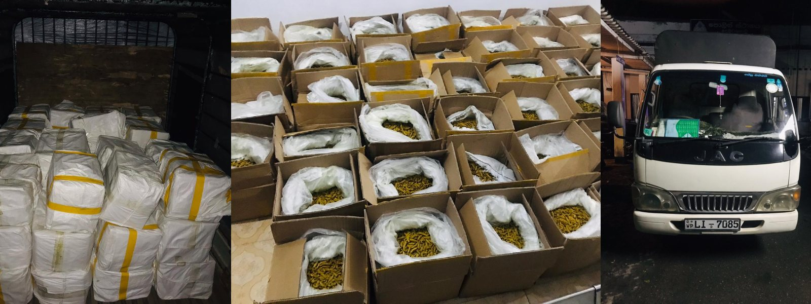 OVER 1000KG OF ILLEGALLY IMPORTED TURMERIC SEIZED