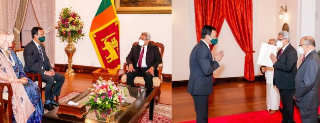 SL WILL PRIORITIZE REGIONAL MARITIME COOPERATION : PRESIDENT