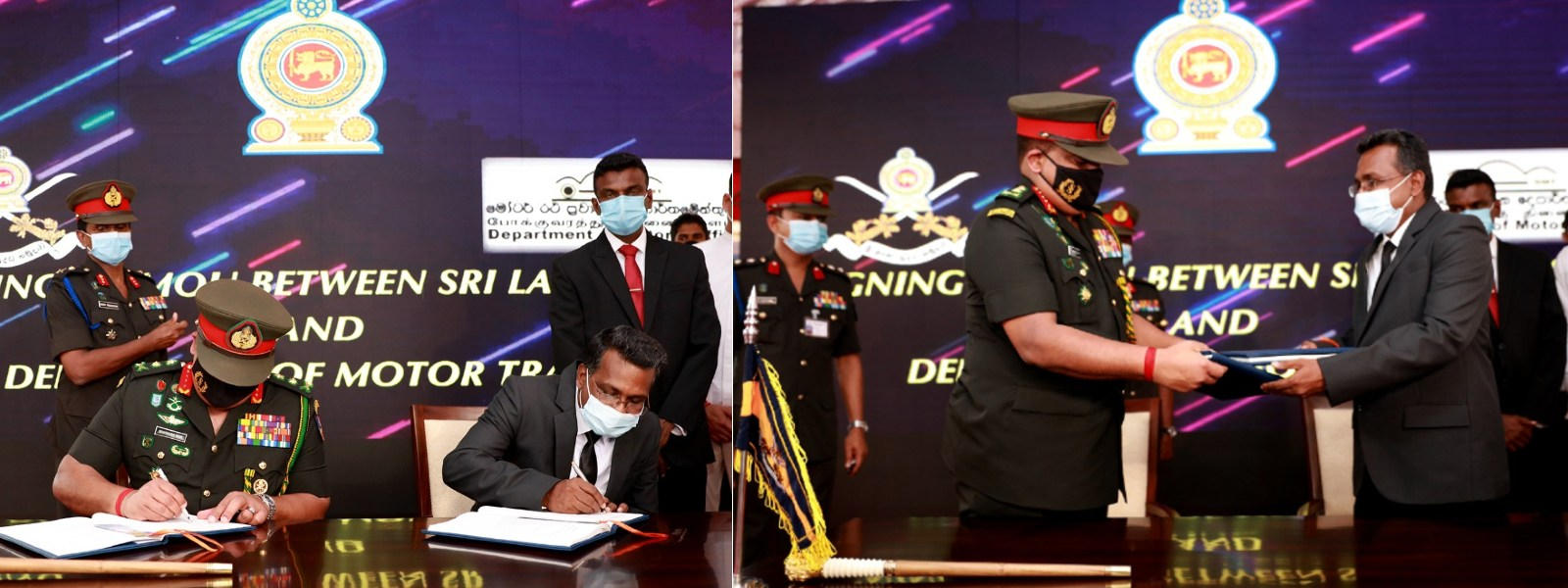 SL ARMY BEGINS PRINTING OF NATIONAL DRIVING LICENSES