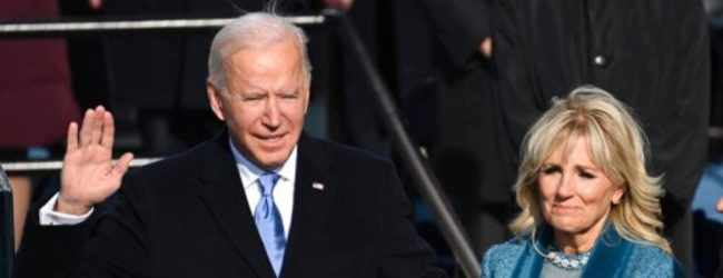 'This is America's day': Biden inaugurated as 46th US President