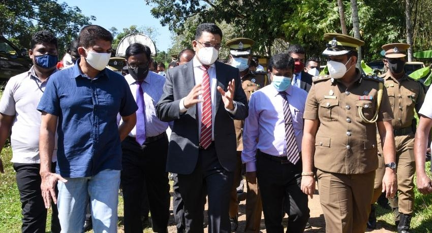 MODERN PRISON FOR HORANA – MINISTERS VISIT PROPOSED SITE