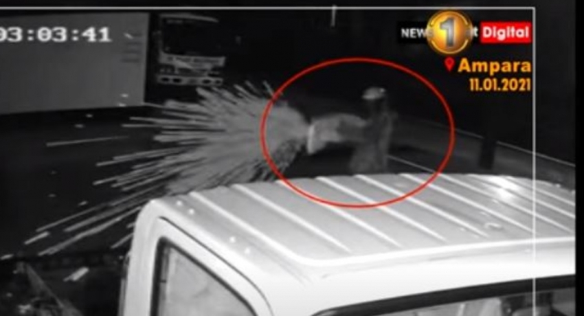 (VIDEO) GUNMAN OPENS FIRE AT CAR SALE IN AMPARA
