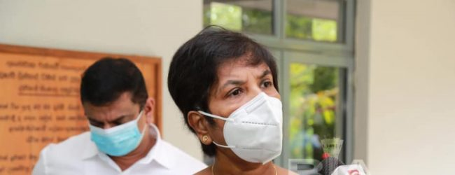 COVID-19 IS AIR-BORNE & NOT WATER-BORNE ; DR. SUDARSHINI