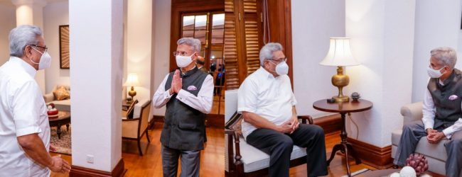 SL will be given priority in Indian COVID vaccine – Jaishankar
