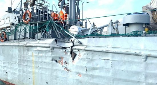 India lodges protest over mid-sea collision involving SLN