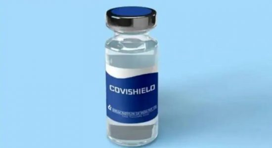 32,539 people received the 'AstraZeneca Covishield' vaccine on Saturday (30)