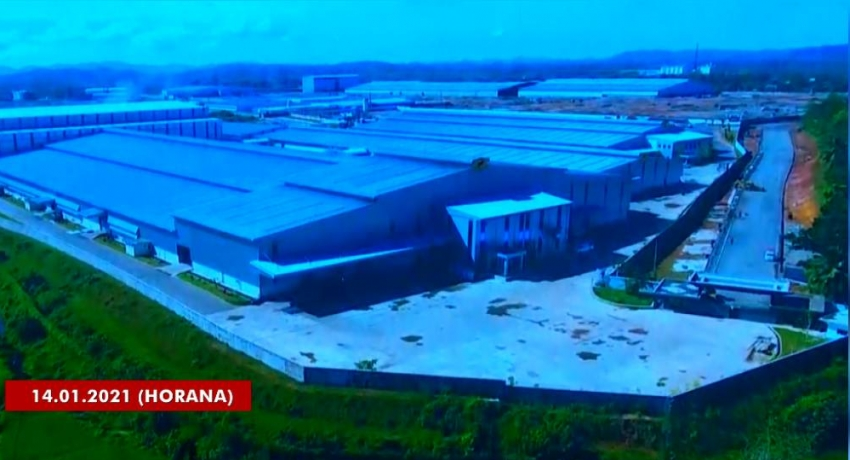 South Asia's largest tyre factory in Horana