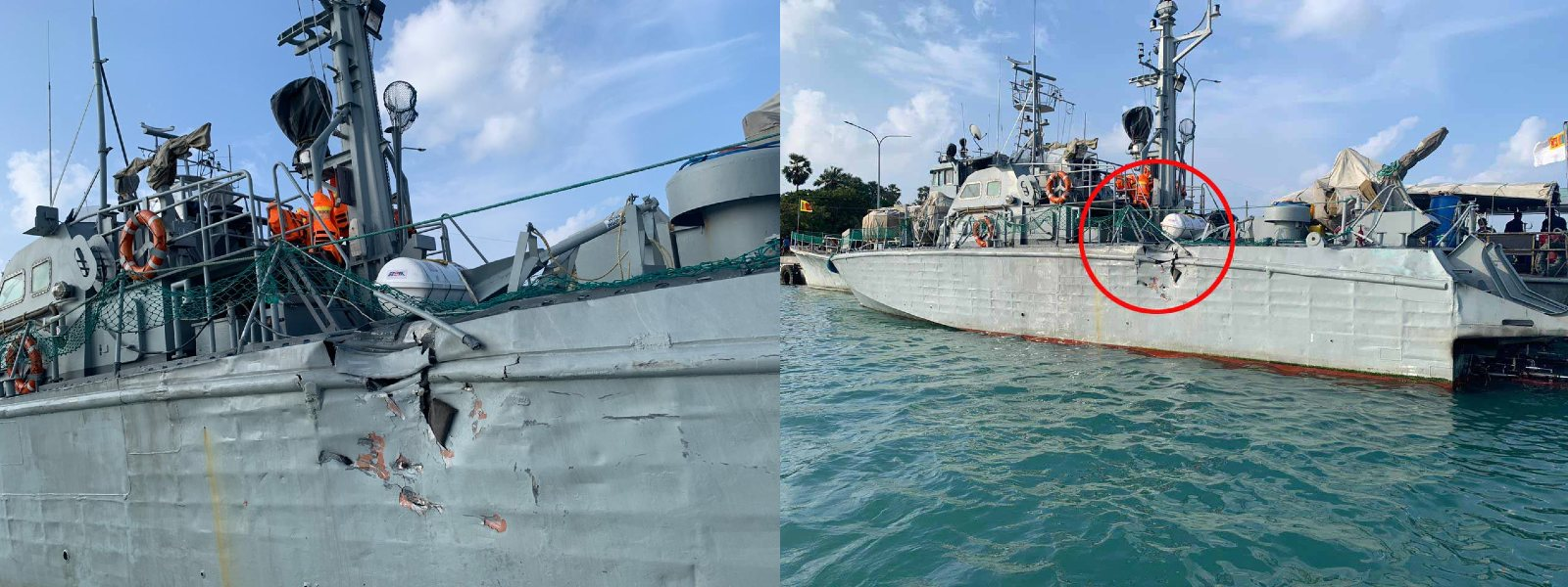 NAVY SEARCHING FOR SUNKEN INDIAN BOAT & CREW