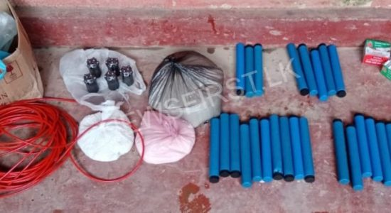 04 ARRESTED FOR STEALING EXPLOSIVES IN MAWANELLA