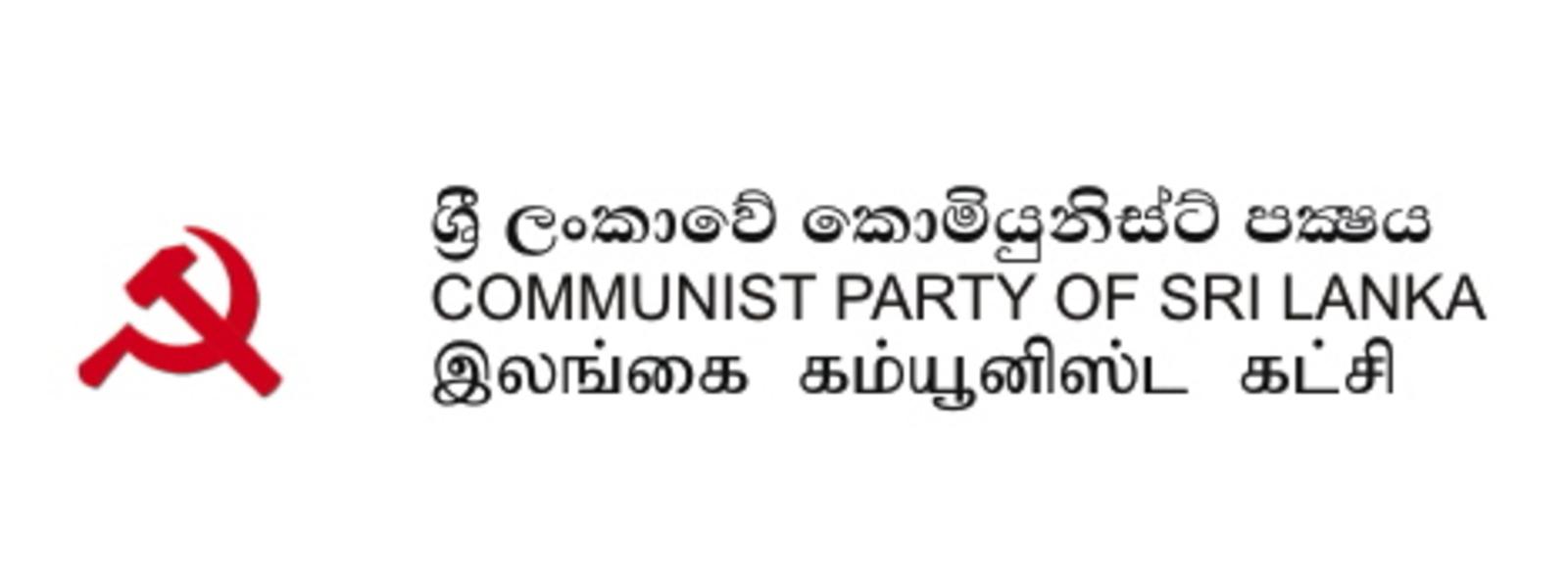Seven political parties convene at Communist Party HQ