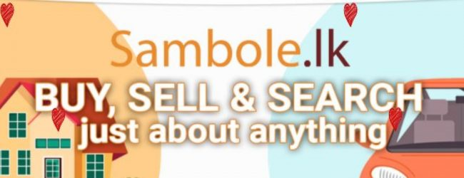 Sri Lanka's leading e-commerce platform Sambole.lk turns 01