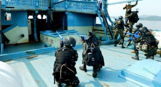 (PICTURES) Visit Board Search & Seizure (VBSS) Course by Sri Lanka Navy