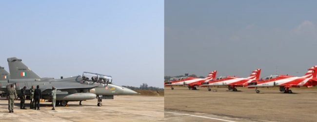 (PICTURES) Indian aircraft in Sri Lanka for Galle Face aerobatic display