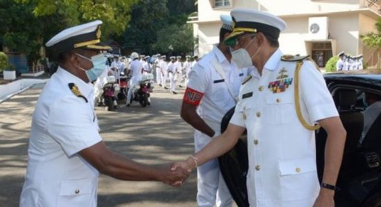 Command of Eastern Naval Area changes hands: Rear Admiral Jayarathne assumes office