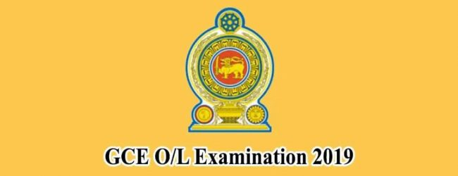 2019 GCE O/L: Re-correction results out