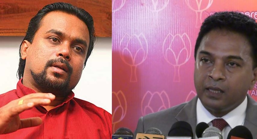 SLPP fires back at Wimal over leadership comment