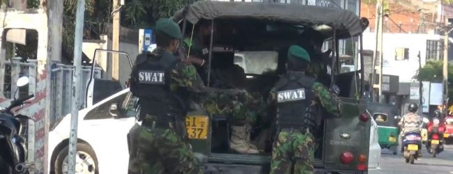 SWAT opens fire to stop suspected drug trafficking car