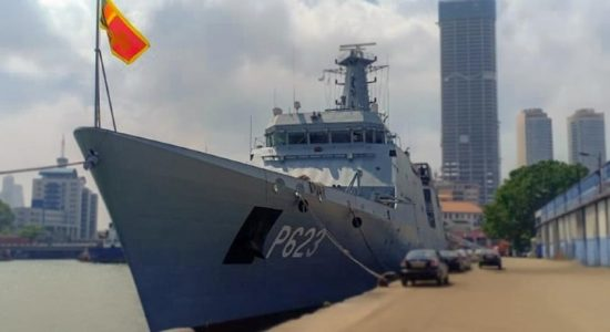 Colombo Naval Exercise -2021 Launched aboard SLNS Sayurala