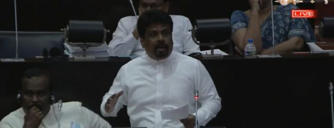 "(VIDEO) JVP Leader to Speaker: ""You're not the Ruling Party Organizer""!"