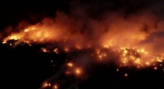 Kerawalapitiya Garbage Dump Fire still Raging