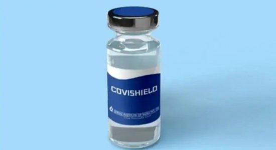 Over 95,000 jabbed with COVISHIELD in 04 days.