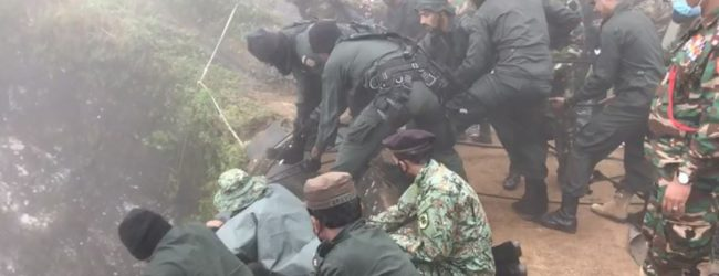 (VIDEO) Army braves gale winds & thick fog in search for Dinura