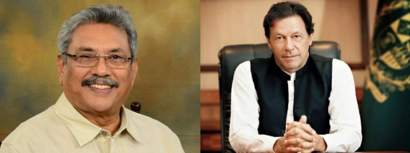 PM Imran Khan to call on President Gotabaya Rajapaksa today (24)