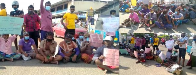 Trinco fishermen protest against external threats to livelihood