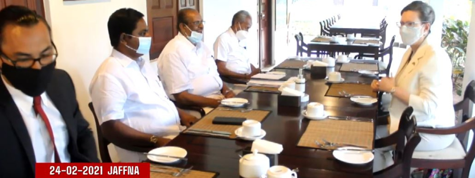 US Ambassador meets Political Leaders from North