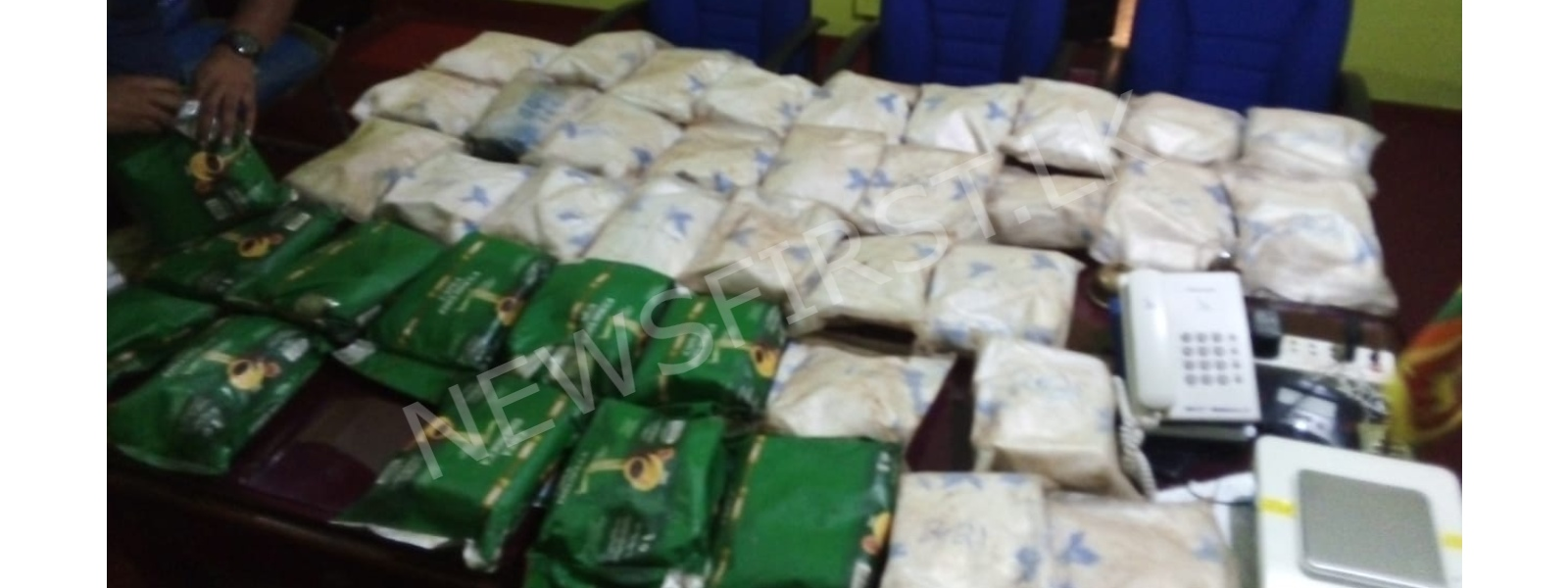 Two arrested with over 45 kg of Heroin in Horana