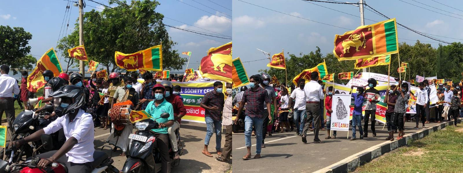 Independence Day celebrated in Jaffna