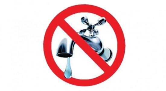 Water Cut on Sunday (21) for multiple areas in Colombo