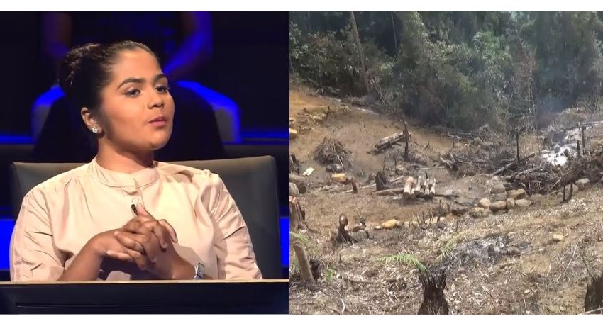 Police record statement from 'Lakshapthi' contestant who exposed Sinharaja destruction