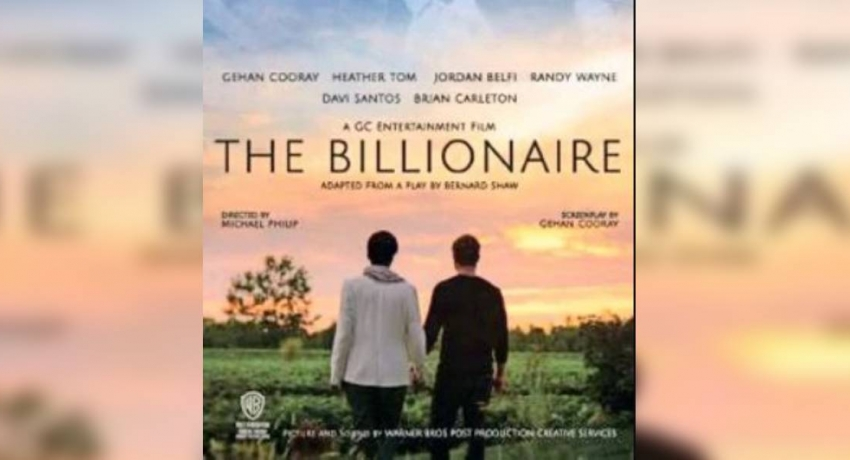 """The Billionaire"" premiers in Colombo"