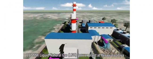 Construction of first LNG Power Plant in SL begins