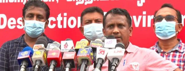 "(VIDEO) ""After Bhagya spoke out, Saubhagya chased after her,"" – JVP"