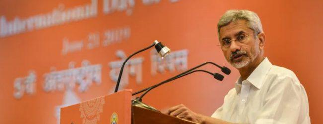 """India will unequivocally stand by Sri Lankan Tamil communities"" – Jaishankar"