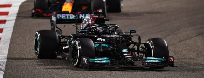 Hamilton holds off Verstappen to win thrilling season opener in Bahrain