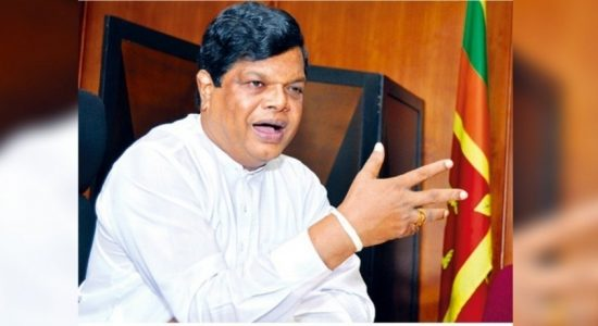Minister Bandula storms out