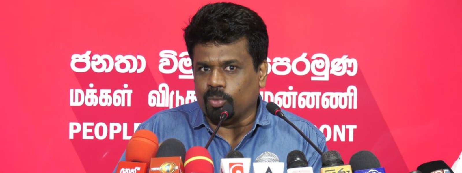"""""""Hands off Free Media- it's the People's Right!"""" – JVP Leader warns President."""