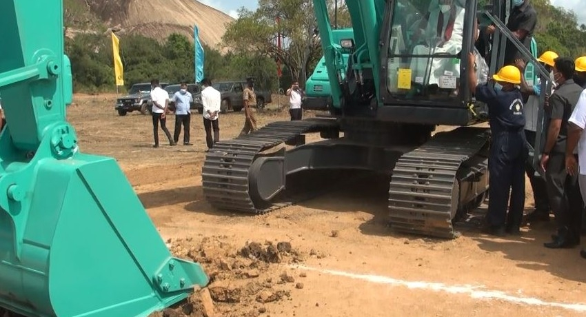 Lower Malwathu Oya Reservoir Project begins; Chinese firm leads construction