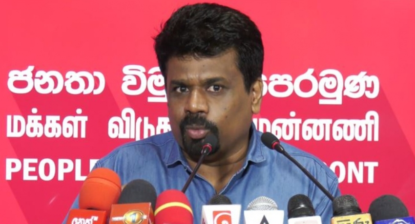 """Hands off Free Media- it's the People's Right!"" – JVP Leader warns President."