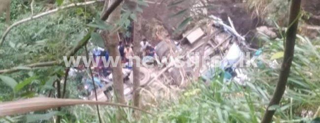 More than a dozen fatalities in Passara as bus falls in precipice