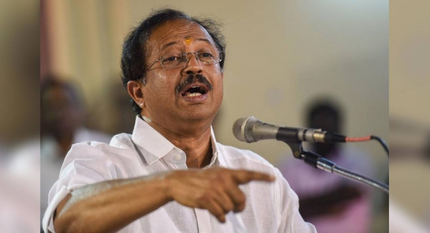 SL must fulfill commitments to Tamils : Muraleedharan