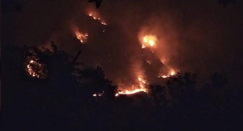 Fire erupts at Ravana Ella forest reserve