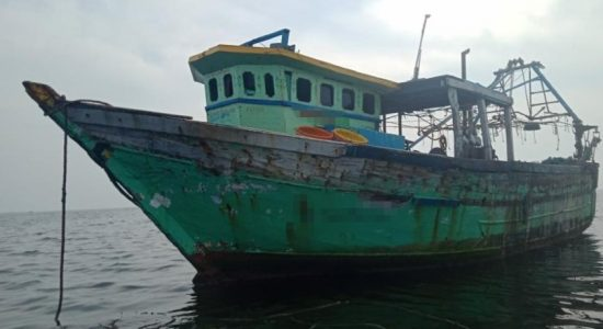 (PICTURES) Navy detains 54 Indians for poaching in Sri Lankan waters