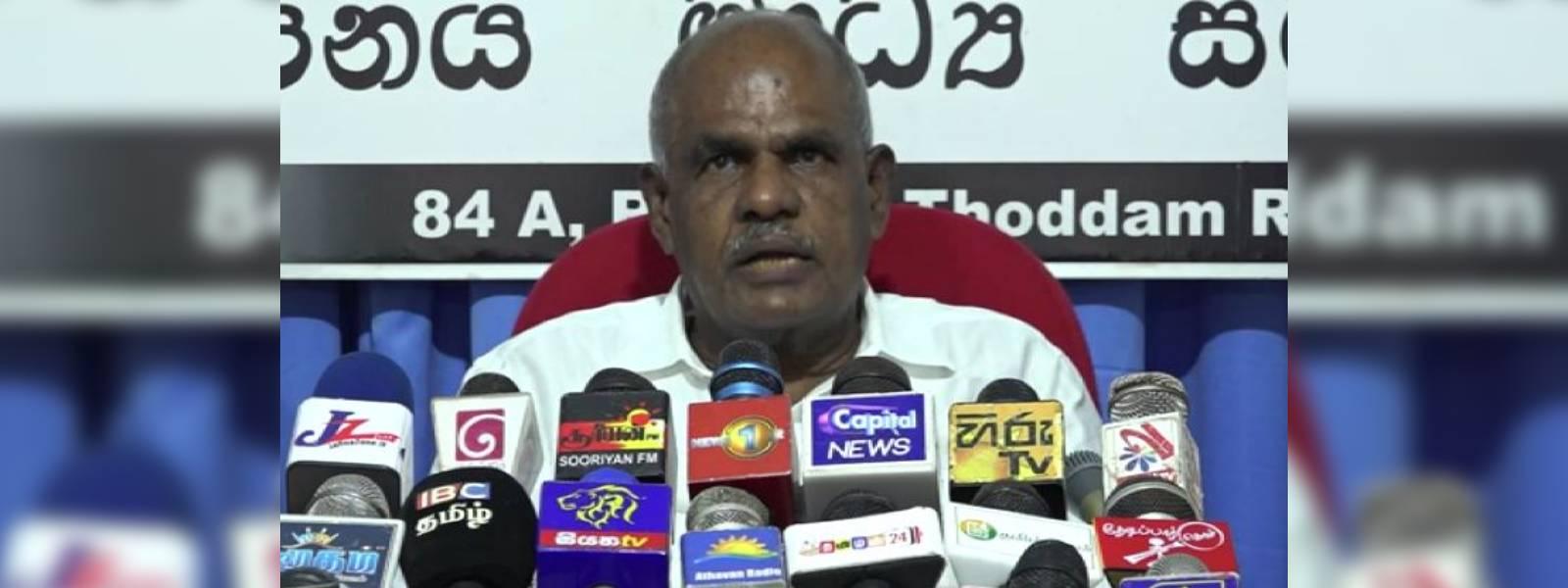 Sri Lanka BJP has no links to India : Muththusami