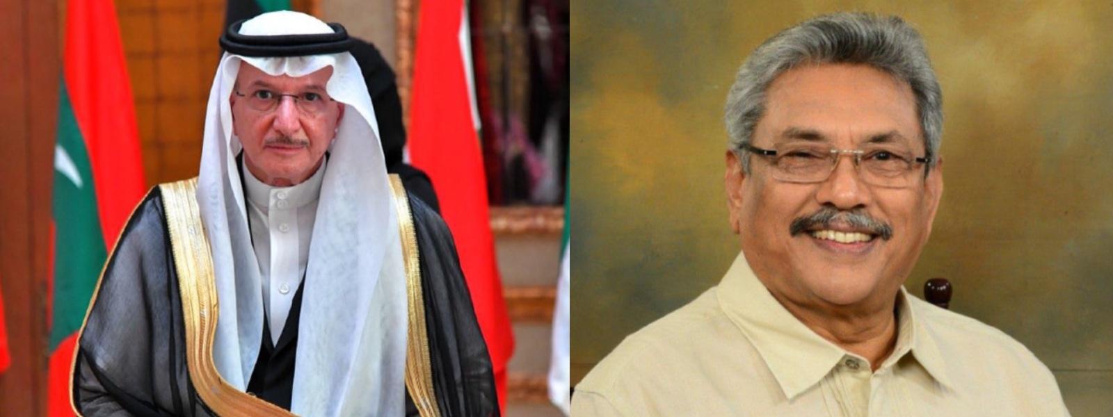 President speaks to Organization of Islamic Cooperation's Sec. Gen.