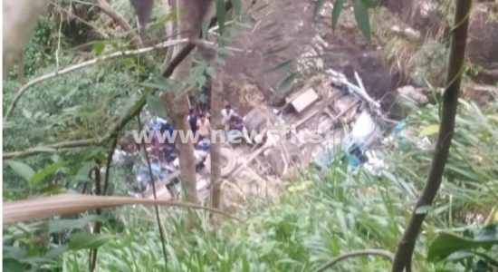 More than a dozen fatalities in Passara as bus falls in precipice